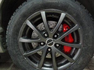 Mitsubishi Lancer X .Тормозная система HPB 304x26mm 6 pot_13