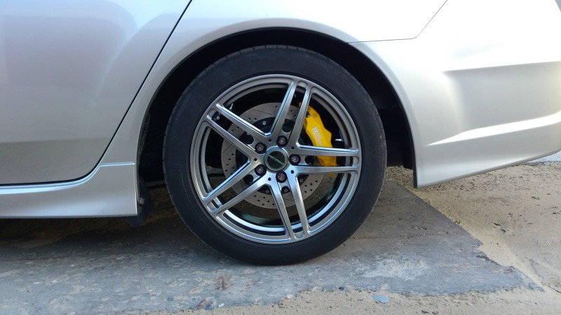 Honda Accord CU1, CU2. Тормоза HPB