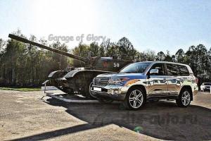 Toyota Land Cruiser 200. Тормоза HPB 355mm_1