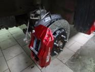 Honda Civic Type R тормоза