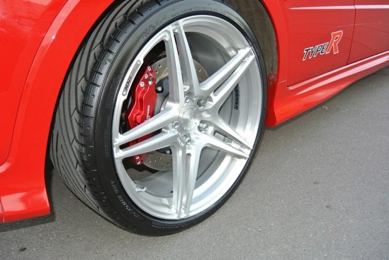 Honda Civic Type R (3rd generation). Тормозная система HPB