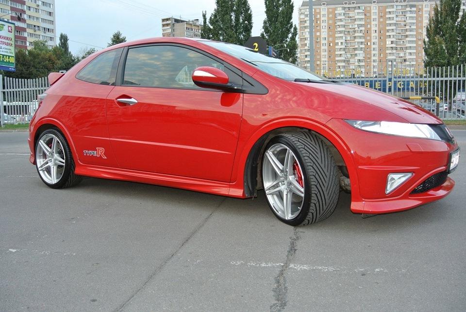 Honda Civic Type R. Тормоза HPB
