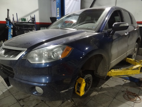 Acura RDX. Тормоза HPB 356mm 6pot