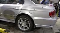 Hyundai sonata тормоза HPB