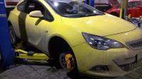 Opel Astra J GTS тормоза