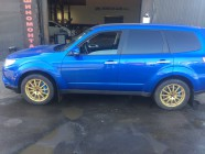 Subaru Forester STI. тюнинг тормозов