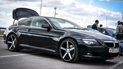BMW 6 series (E63). Тормоза HPB 356mm 6pot.