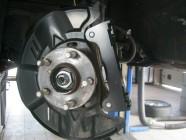 замена тормозов на Subaru Forester