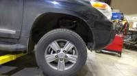 установка тормозов Toyota LC200