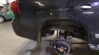 замена тормозов Toyota LC200