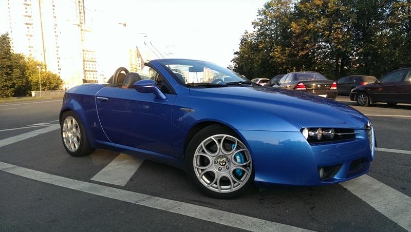 Alfa Romeo Spider. Тормоза HPB
