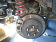 тормоза Subaru Forester Sti