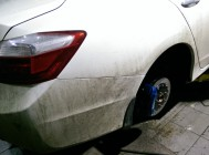 Honda Accord 9 rear 330x28 4pot 9