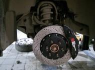 Cadillac Escalade тормозная система