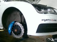 Audi A7 тормоза HPB 380mm b8pot + 356mm 6pot - 3