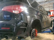 Infiniti QX56 405x36mm 8pot + 405x34mm 6pot - 7