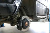 тормоза hp-brakes MB G463 380mm 8pot + 356mm 6pot - 2