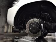 Toyota LC200 тормоза hpb 405x36mm b8 pot + 380x32mm b6pot - 1