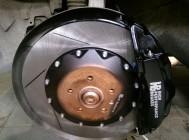 тормоза hpb на Audi A8 W12 380x34xmm 6pot (4)