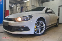 VW Scirocco 2.0T. тормоза HPB 330x32mm big 6pot