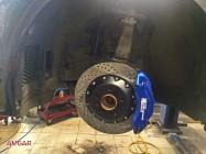 BMW 5 серии F10. Тормоза HPB 356x32mm 6 pot. (7)