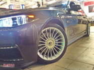 BMW 5 серии F10. Тормоза HPB 356x32mm 6 pot. (11)
