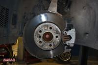 BMW 5 серии F10. Тормоза HPB 356x32mm 6 pot. (5)