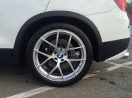 BMW X3 тормоза HPB F380x34xb8 R356x32x6 (4)