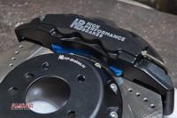BMW X3 тормоза HPB 365x34mm 6pot (5)