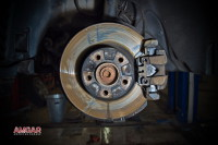 BMW X3 тормоза HPB 365x34mm 6pot (3)