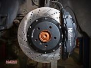 BMW X3 тормоза HPB 365x34mm 6pot (8)