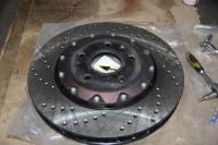 Skoda Octavia RS BARRACUDA_10_замена тормозных колодок и роторов. Тормоза HPB