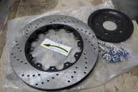 Skoda Octavia RS BARRACUDA_11_замена тормозных колодок и роторов. Тормоза HPB