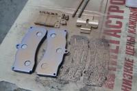 Skoda Octavia RS BARRACUDA_14_замена тормозных колодок и роторов. Тормоза HPB