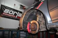 Skoda Octavia RS BARRACUDA_1_замена тормозных колодок и роторов. Тормоза HPB