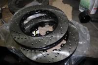 Skoda Octavia RS BARRACUDA_2_замена тормозных колодок и роторов. Тормоза HPB