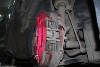 Skoda Octavia RS BARRACUDA_4_замена тормозных колодок и роторов. Тормоза HPB
