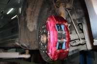 Skoda Octavia RS BARRACUDA_5_замена тормозных колодок и роторов. Тормоза HPB