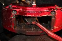 Skoda Octavia RS BARRACUDA_6_замена тормозных колодок и роторов. Тормоза HPB