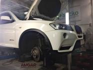 BMW X3. Тормоза(2)