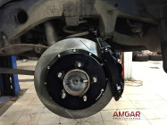 Toyota Land Cruiser 200. Тормоза HPB F365 6pot Ultimate + R365 4pot Ultimate - 8