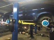 Тормоза HPB на BMW X6 i50 (2)