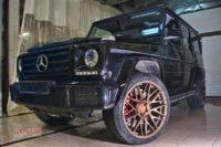 Mercedes G500 тормоза HPB F430+R405 (15)