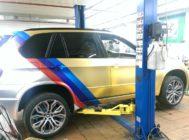 BMW X5M Eric тормоза HPB (1)