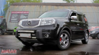 Honda Pilot тормоза HPB (8)