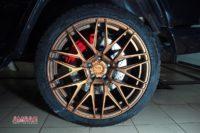 Mercedes G500 тормоза HPB F430+R405 (16)