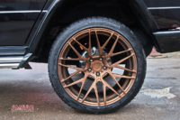 Mercedes G500 тормоза HPB F430+R405 (4)