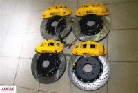 BMW 6 series F13 тормоза HPB (5)