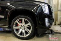 Cadillac Escalade. Тормоза HPB Ultimate (7)