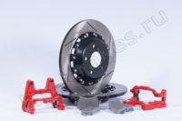 Кит увеличенных задних дисков (под сток суппорт)
